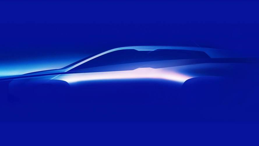 BMW Vision Vehicle Teased As Preview For 2021 iNext