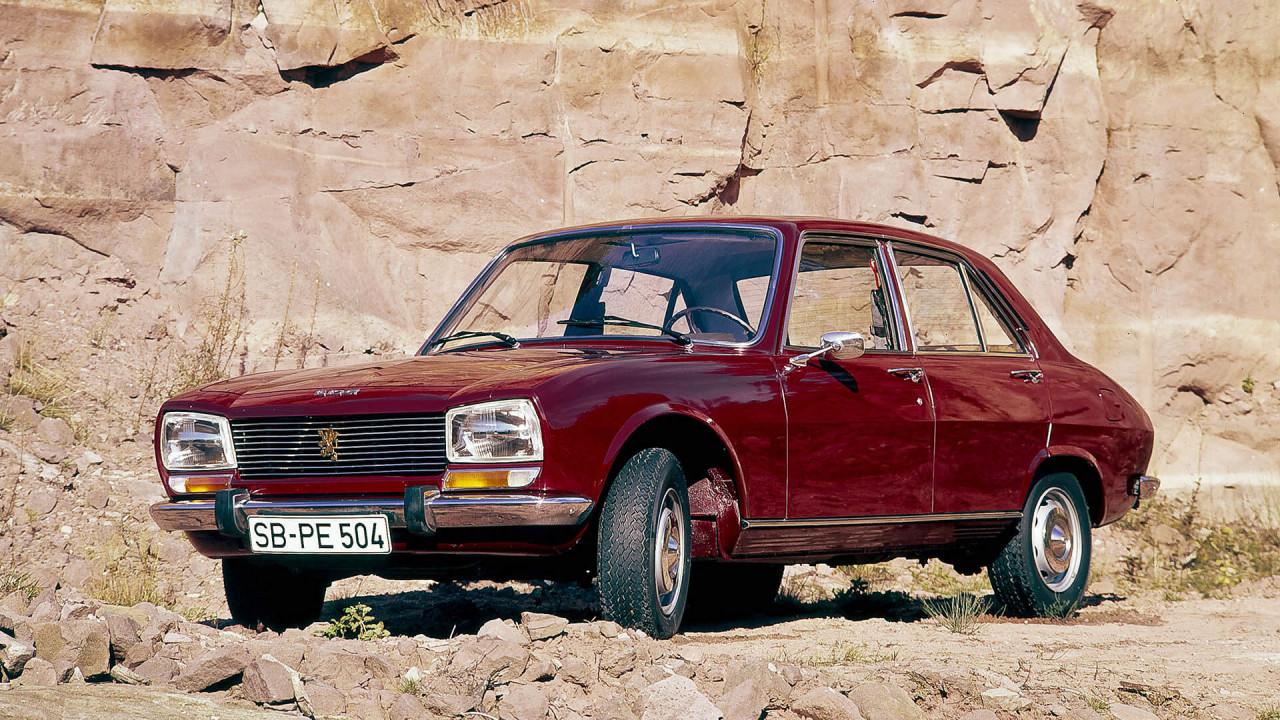 50 Jahre Peugeot 504