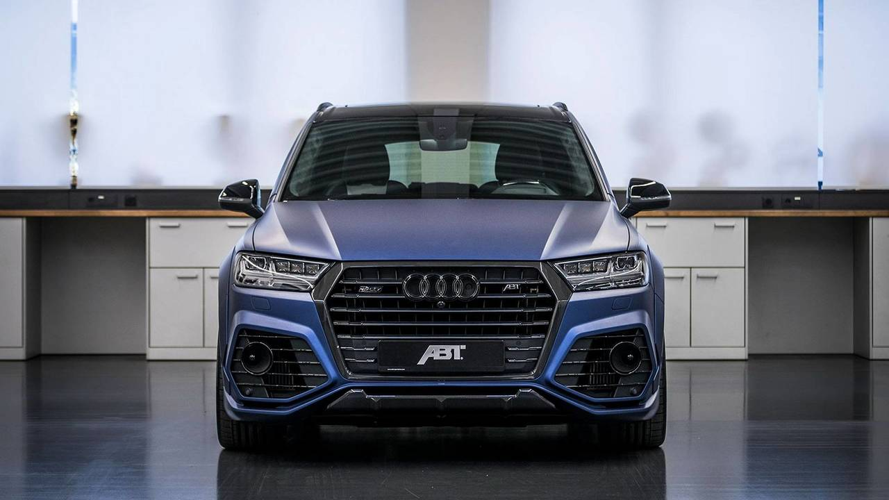 ABT Modifiyeli Audi SQ7