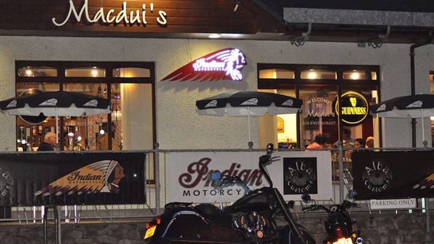 Indian Motorcycle-Themed Restaurant Opens Doors in Scotland