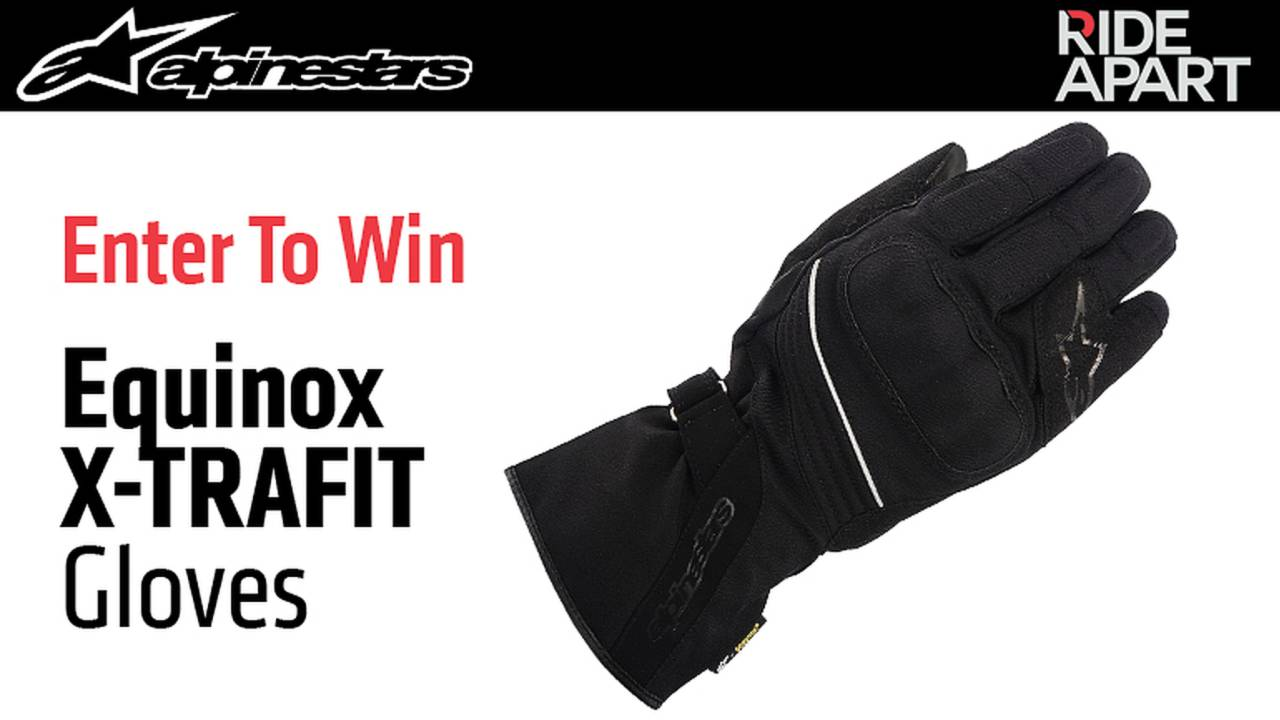 Enter To Win Alpinestars Equinox X-TRAFIT Gloves