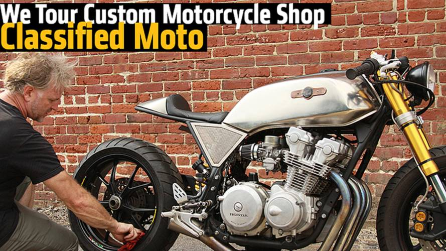 Building Cafe Racers in a Horse Barn - We Tour Custom Motorcycle Shop, Classified Moto