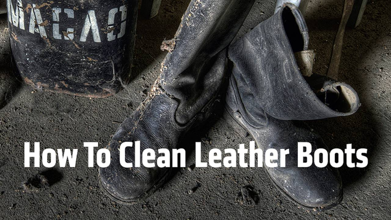 How To Clean Leather Motorcycle Boots