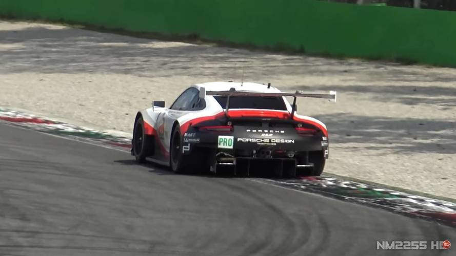 Ortadan motorlu Porsche 911 RSR, Monza'da görüntülendi