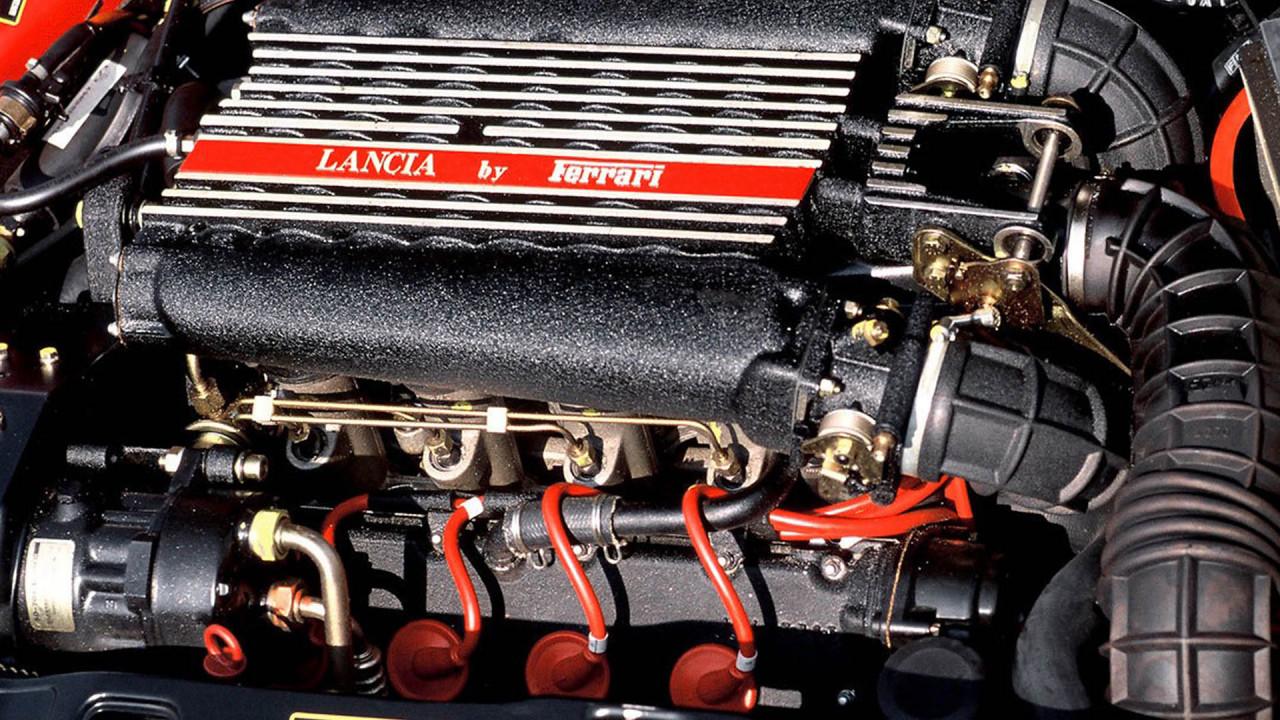 Lancia Thema 8.32: Ferrari