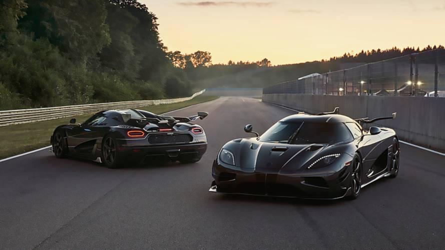 Final two Koenigsegg Ageras built, aptly named Thor and Väder