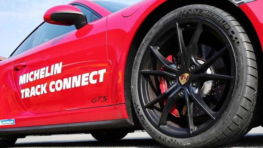 Michelin Track Connect, la prova in pista con la gamma Porsche