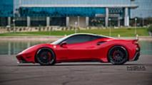 Ferrari 488 GTB with Misha Designs body kit