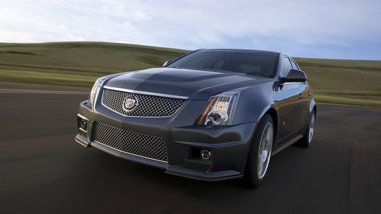 10) 7:59 – 2009 Cadillac CTS-V