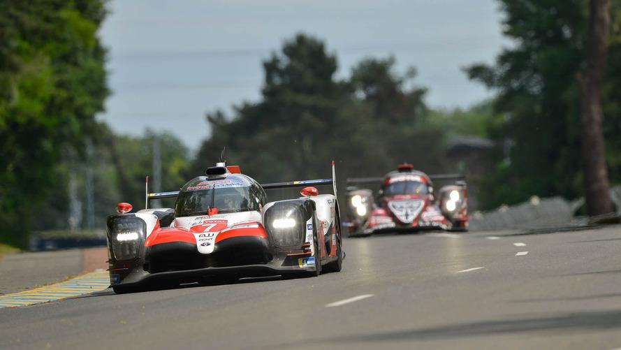 Les plus belles photos des essais des 24 Heures du Mans 2018