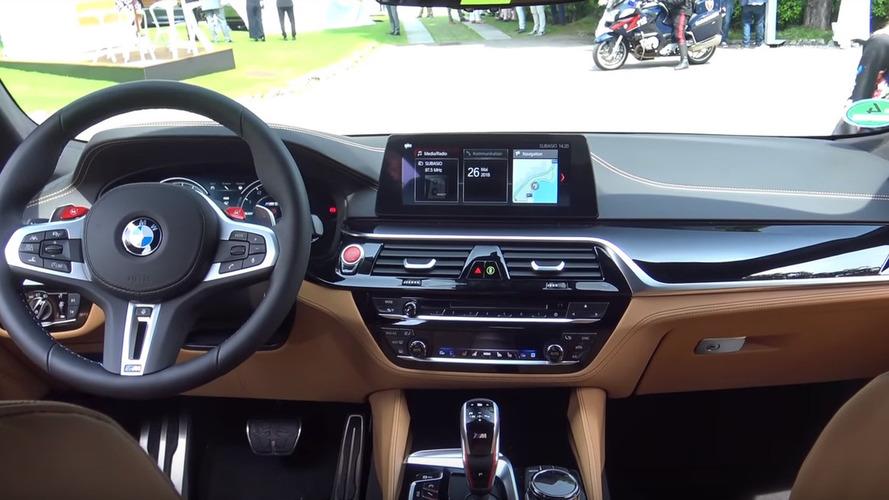BMW Individual Tarafından Hazırlanan Koyu Yeşil BMW M5 F90