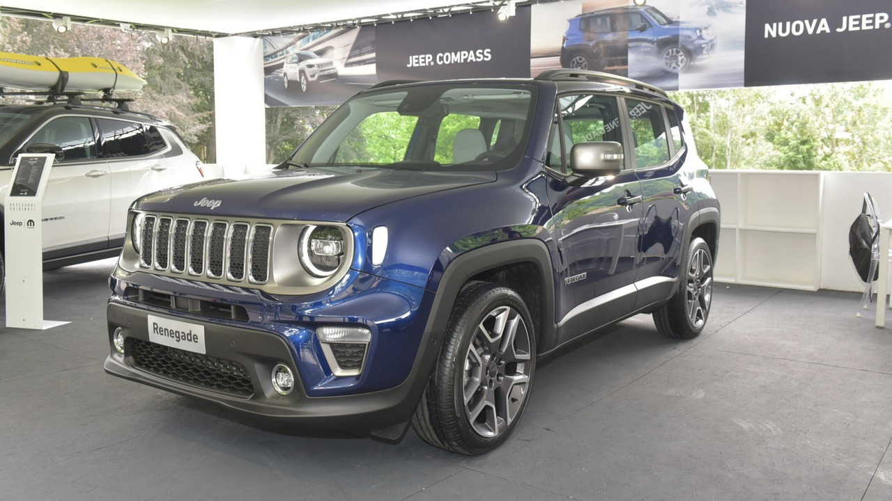 see the 2019 jeep renegade in first real images. Black Bedroom Furniture Sets. Home Design Ideas