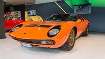 La Walk of Fame del Museo Lamborghini