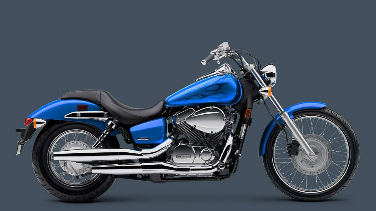 The Honda Shadow, a solid performer.