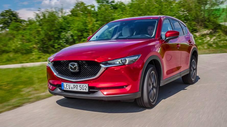 Test: Mazda CX-5 (2018) mit Top-Diesel