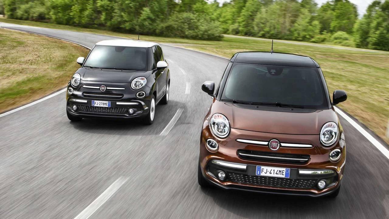 Monovolúmenes urbanos: Fiat 500L 2018