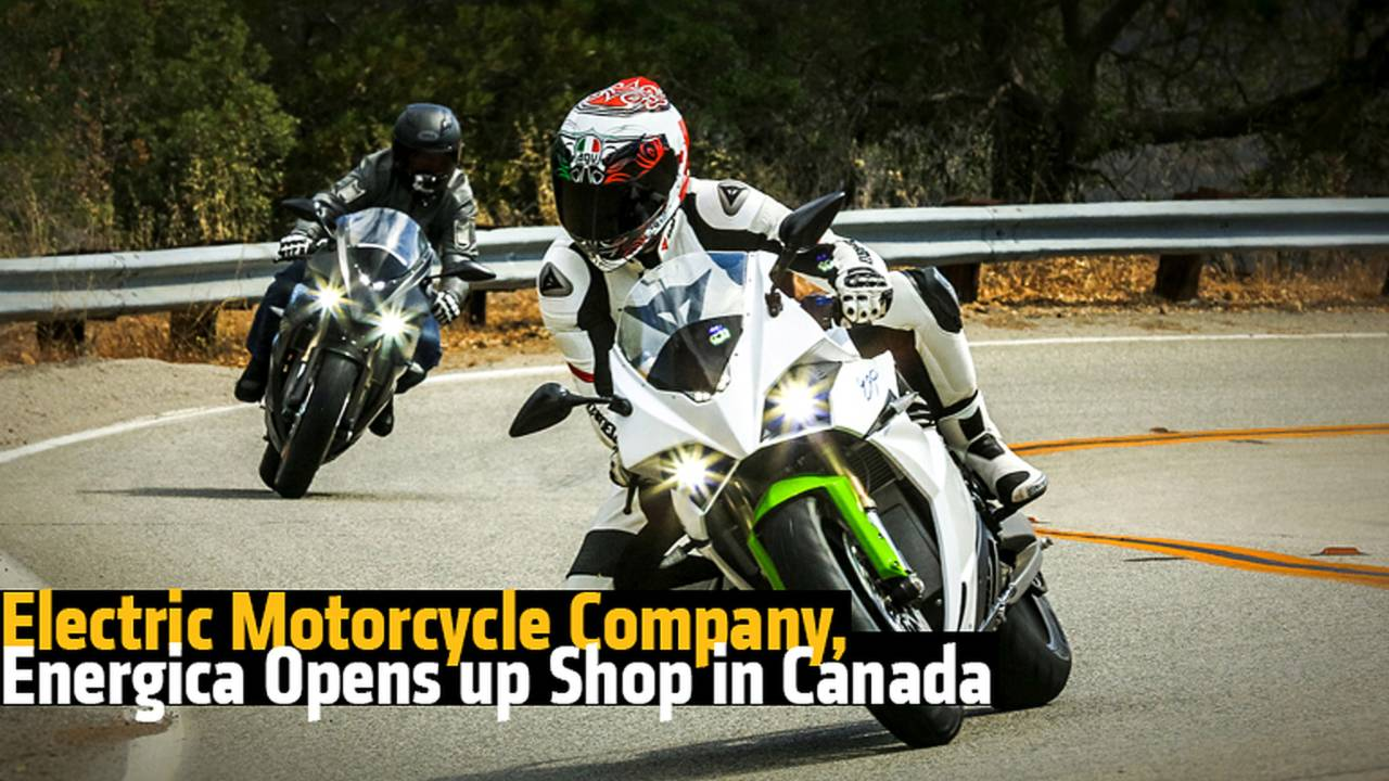 Electric Motorcycle Company, Energica Opens up Shop in Canada