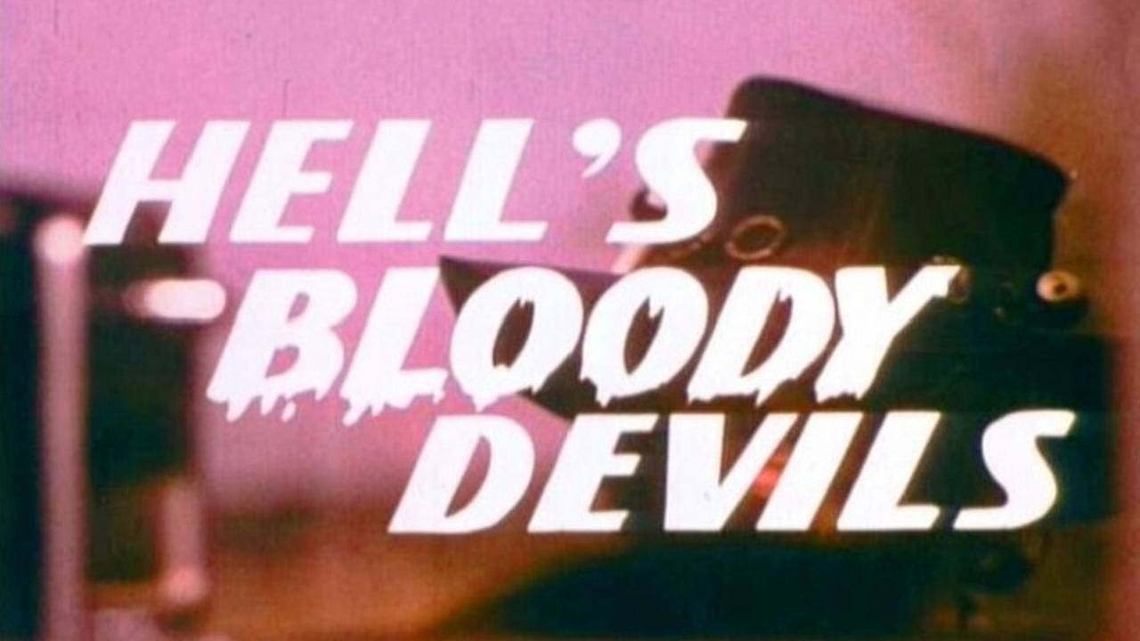 Hell's Bloody Devils (1970) - Moto Movie Review (Race Track Ride-In Edition)