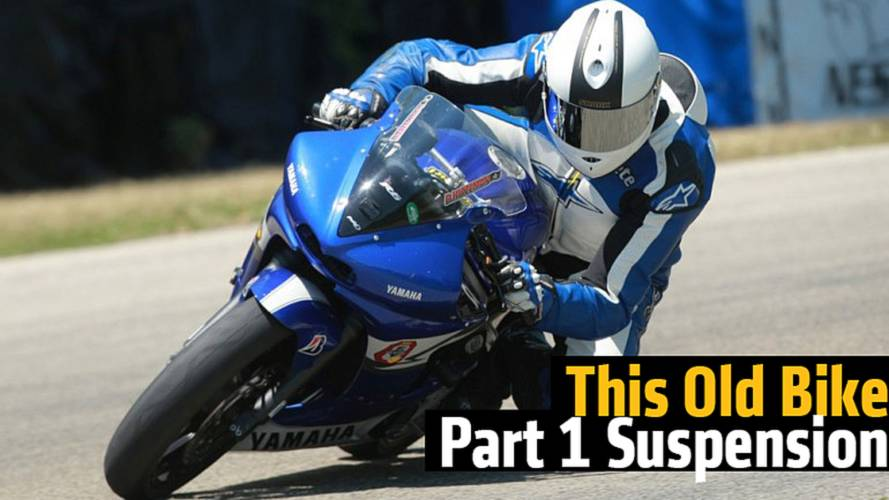 This Old Bike, Part 1: How We Upgraded the Suspension on Our R6 Project Bike
