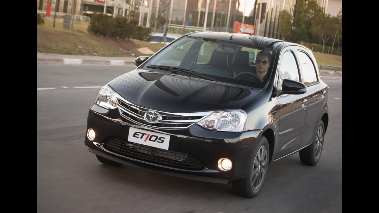 Toyota Etios a R$ 90.500? É o preço da versão Platinum na Argentina