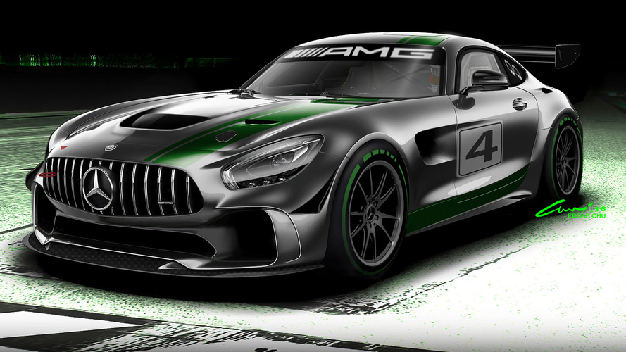 Mercedes-AMG's new GT4 race car looks stunning