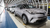 Toyota C-HR production start