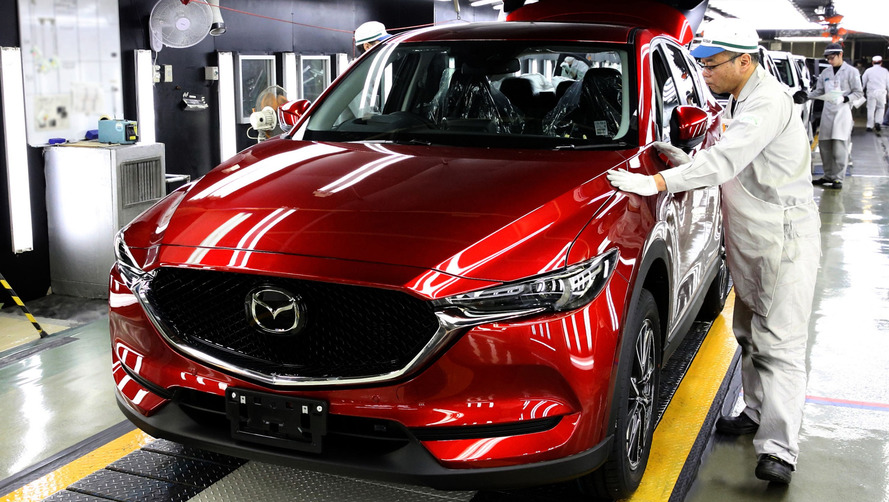 Le Mazda CX-5 entre en production au Japon
