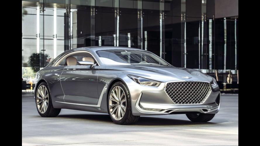 Hyundai anuncia divisão de luxo Genesis; primeiro modelo estreia em dezembro