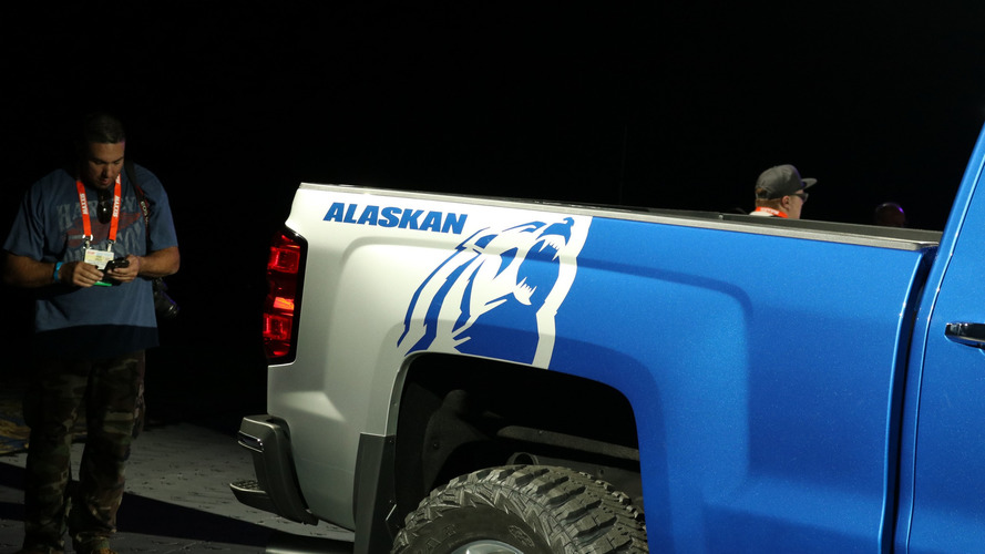 Chevy Alaskan Edition >> Chevy Silverado Alaskan Edition and High Desert concepts live photos | Motor1.com Photos
