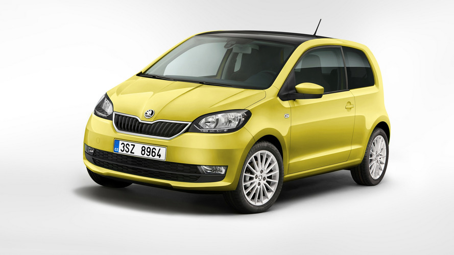 2017 Skoda Citigo facelift gets an umbrella…