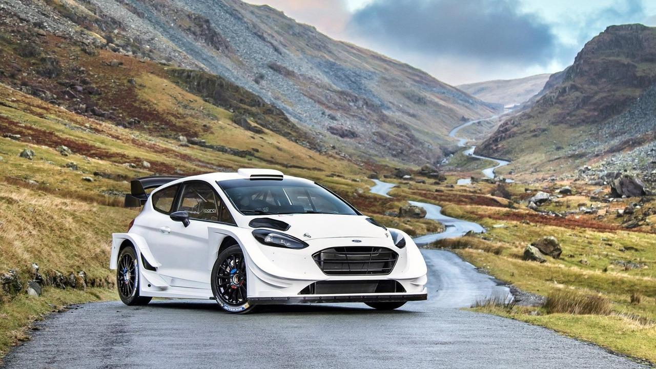 2017 Ford Fiesta WRC, M-Sport