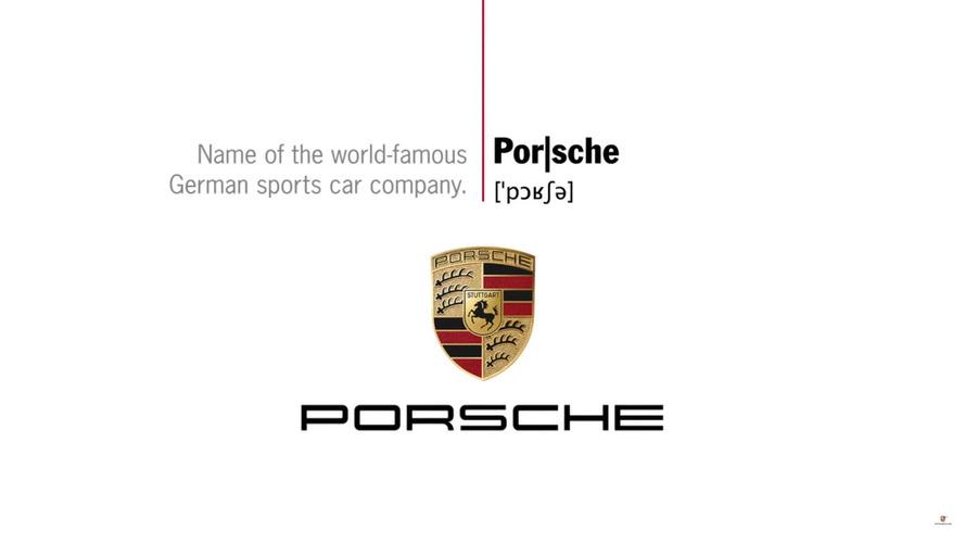 """Et vous, comment prononcez-vous """"Porsche"""" ?"""