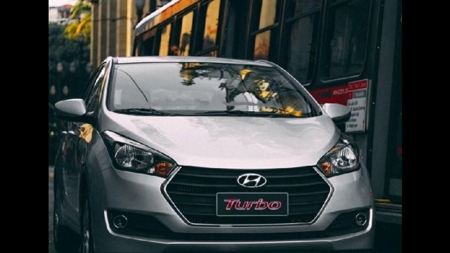 Flagra: Hyundai HB20 1.0 turbo já grava comercial!