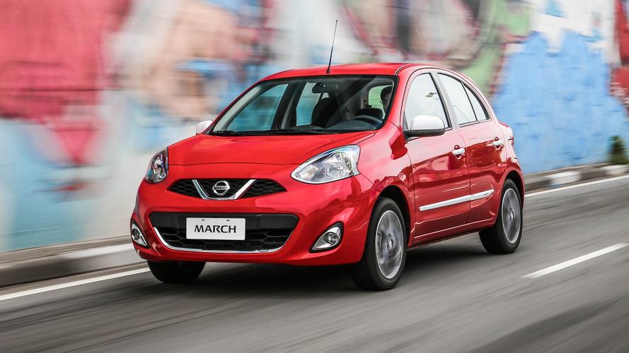 Nissan March e Versa nacionais terão nova geração em 3 anos