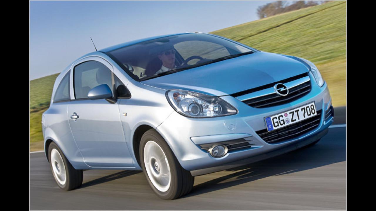 Platz 4: Opel Corsa (4,1 Prozent)