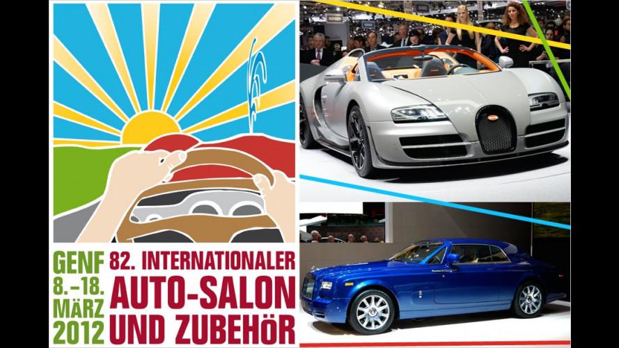 Edel und teuer: Die Luxusautos auf dem Genfer Autosalon 2012