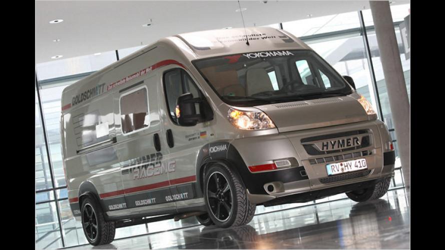 Goldschmitt Hymer Ducato: Wahnsinns-Wohnmobil
