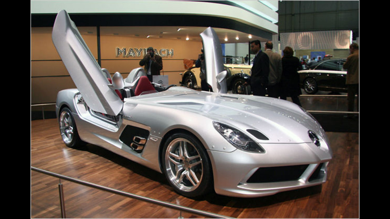 Mercedes SLR Stirling Moss