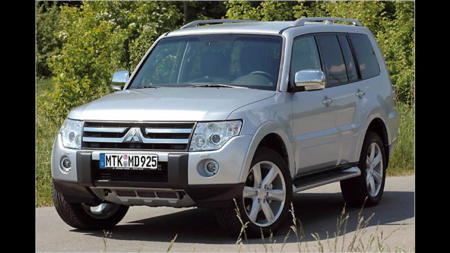 """Silbernes Jubiläum: Pajero ,Edition 25"""" von Mitsubishi"""