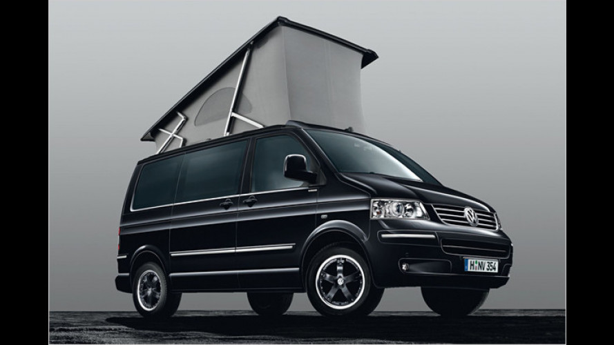 Edles Reisemobil: Limitierter VW California ,Black Edition