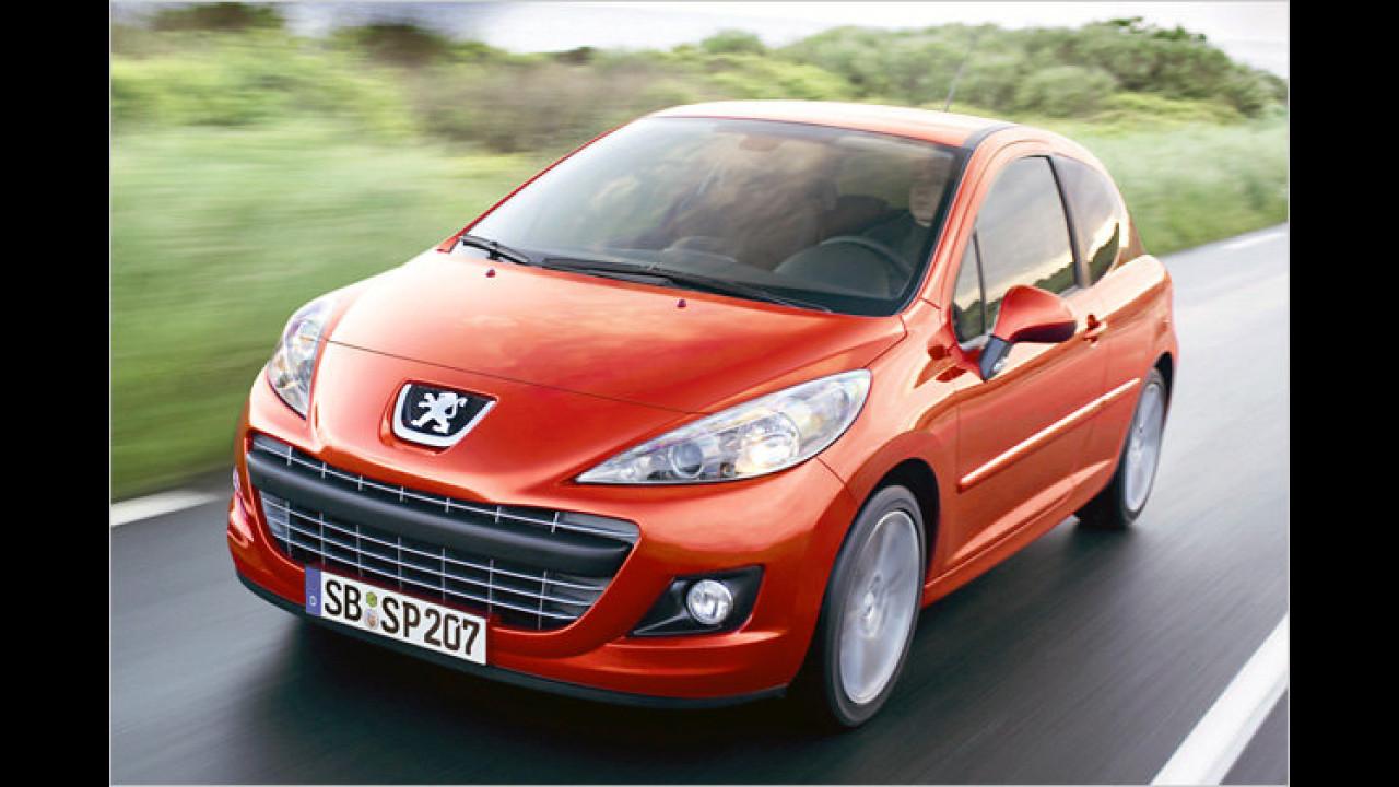 Sparen bei Peugeot