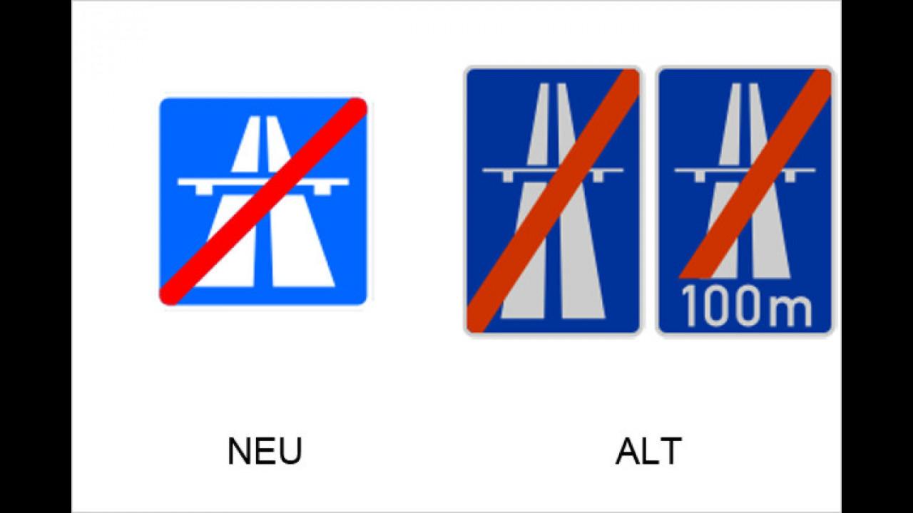 Ende der Autobahn
