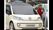 Auflauf der Elektroautos