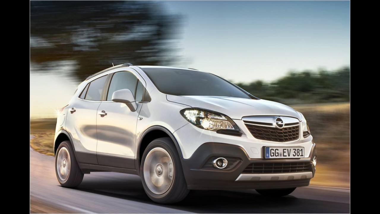 Oktober: Opel Mokka