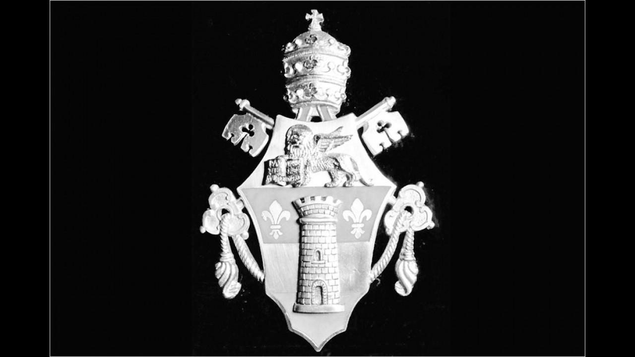 Päpstliches Wappen