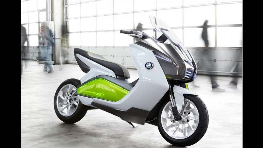 BMW elektrisiert seine Roller
