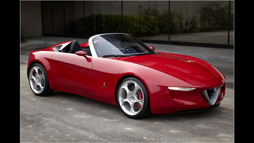 Pininfarina 2uettottanta: Der neue Alfa Spider?