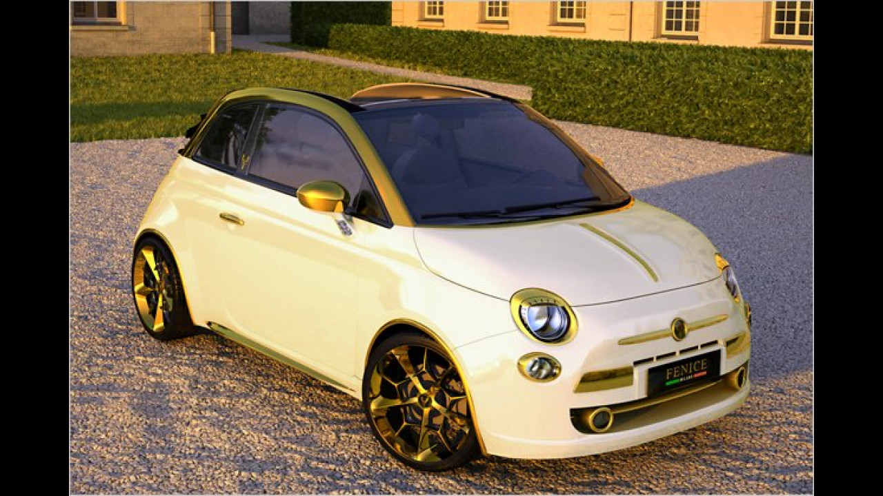 Fiat 500C Fenice Milano