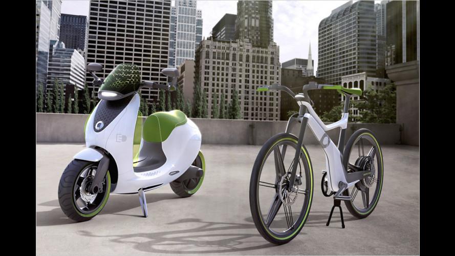Smart escooter (2014): Elektro-Roller für die Stadt