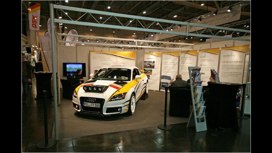 Mentomedia Audi TTS Rallye: Motorsport für Tuningfans